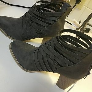 Shoes - Strappy Boots